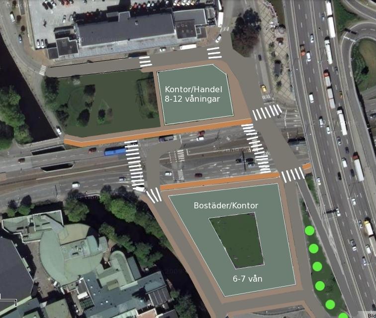 parkering liseberg karta Focusområdet   Yimby Göteborg parkering liseberg karta